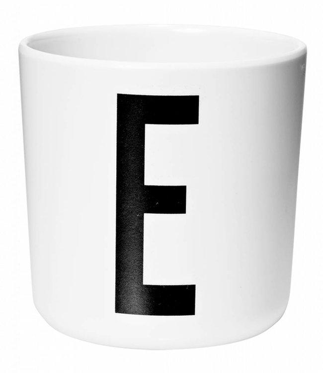Design Letters Melamine beker - E