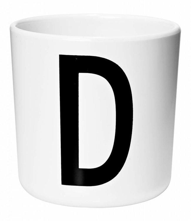Design Letters Melamine beker - D