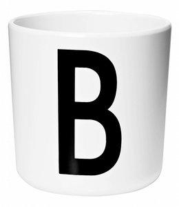 Design Letters Melamine beker - B