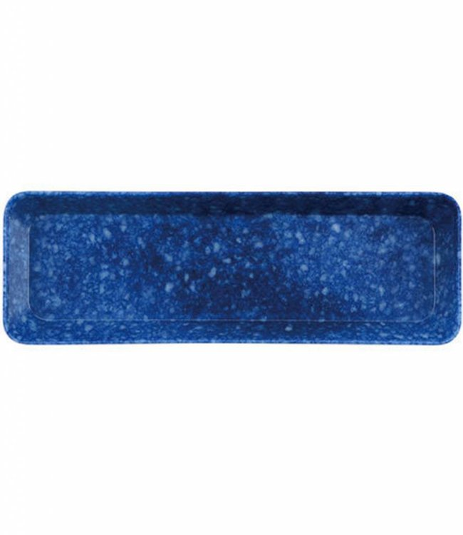 Penco Gemarmerde Pennenbak - Blauw