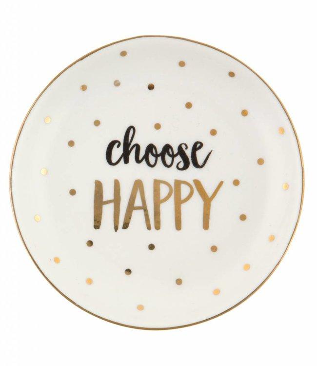 Sass & Belle Schaaltje - Choose Happy