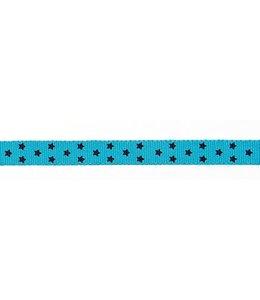 Rico Design Lint - blauw sterren