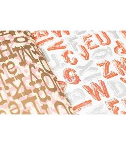 Pepin Inpakpapier - Alfabet