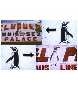 de Beeldvink Postkaart - Grafische rariteiten Patagonië