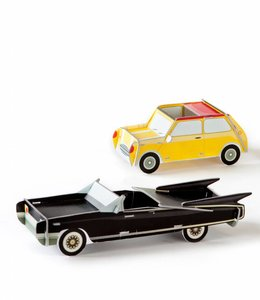 Studio ROOF Cars set van 2 - Yellow & Black