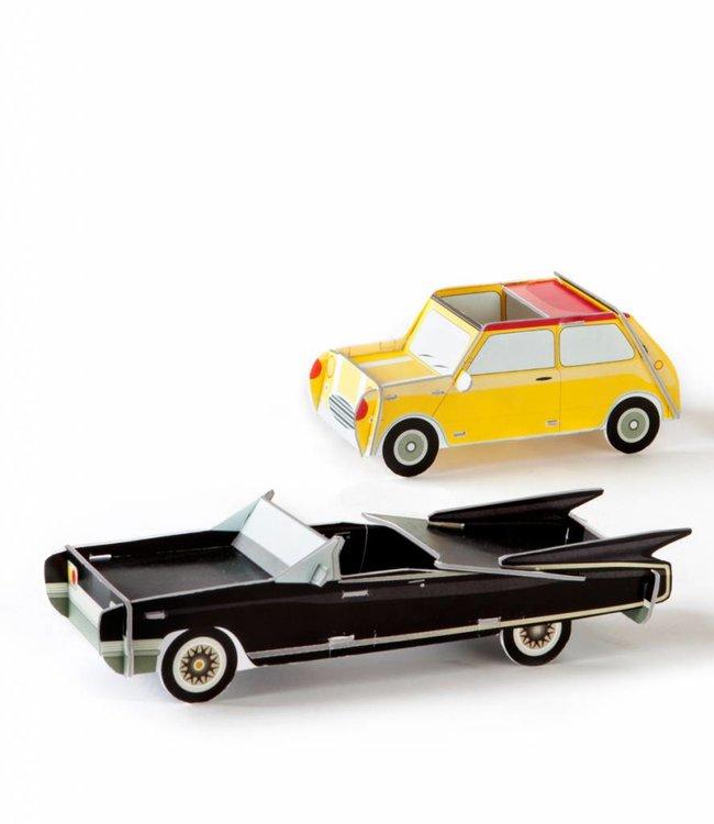 Studio ROOF Cars set van 2 - Yellow & Black