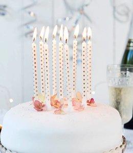 Dotcomgiftshop Lange verjaardagskaarsen - goud