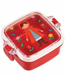 Dotcomgiftshop Mini snack doosje - Roodkapje