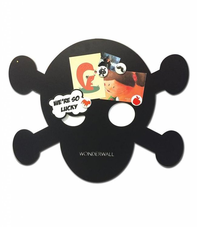Wonderwall Groot magneetbord/krijtbord - Piraat