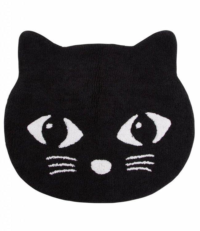 Sass & Belle Vloerkleed - Zwarte kat