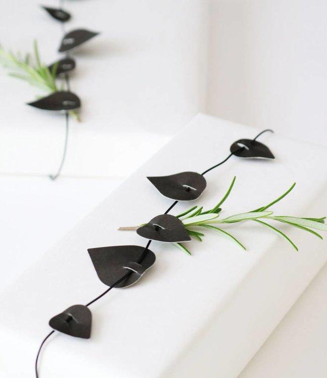 Jurianne Matter Twig leaves - zwart