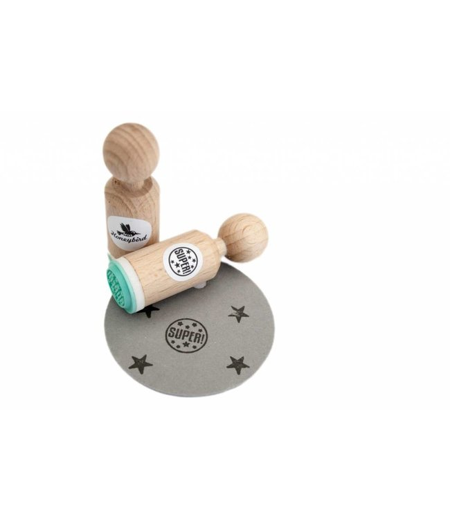 Miss Honeybird Mini stempel - Super!