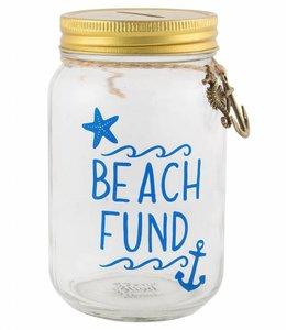 Sass & Belle Spaarpot - Beach Fund
