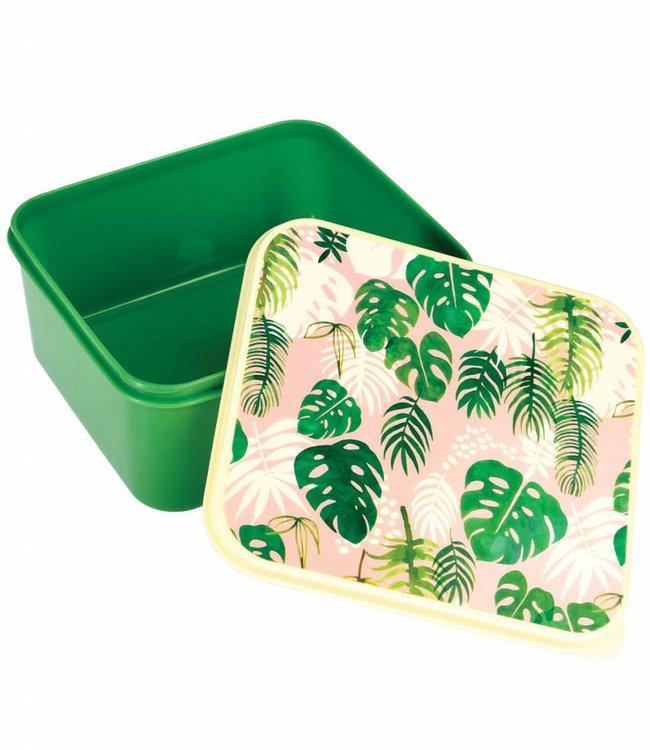 Dotcomgiftshop Broodtrommel - Tropical
