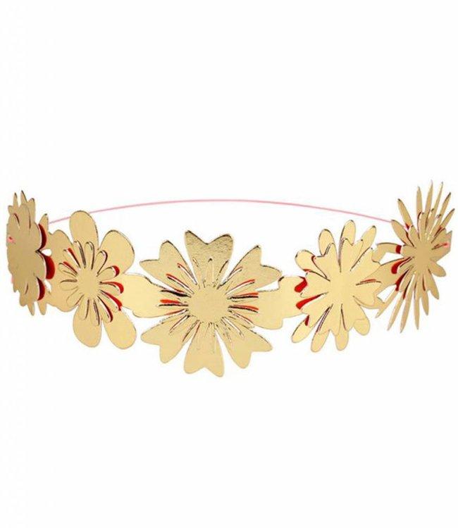 Meri Meri Set van 8 haarbanden - Bloemen