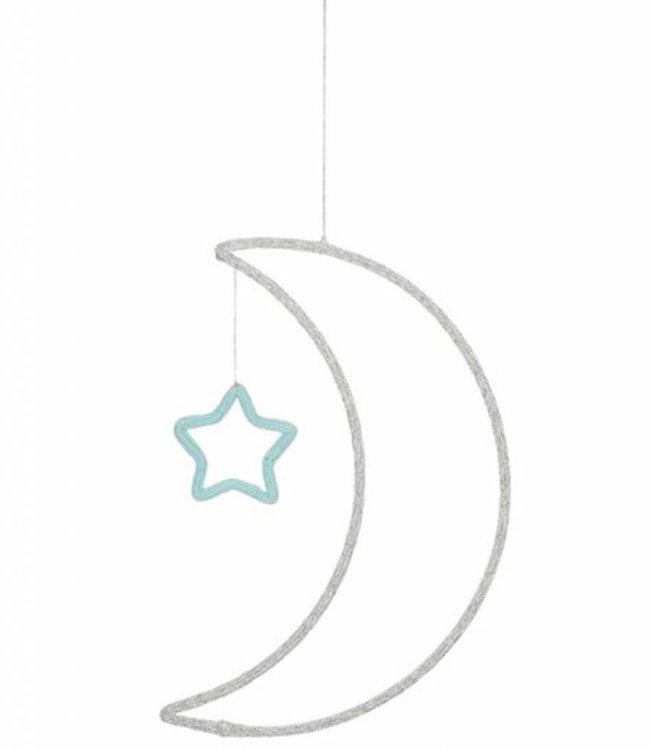 Meri Meri Muurdecoratie - Maan en ster
