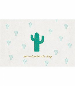 Leuke kaartjes Kaart - Cactus