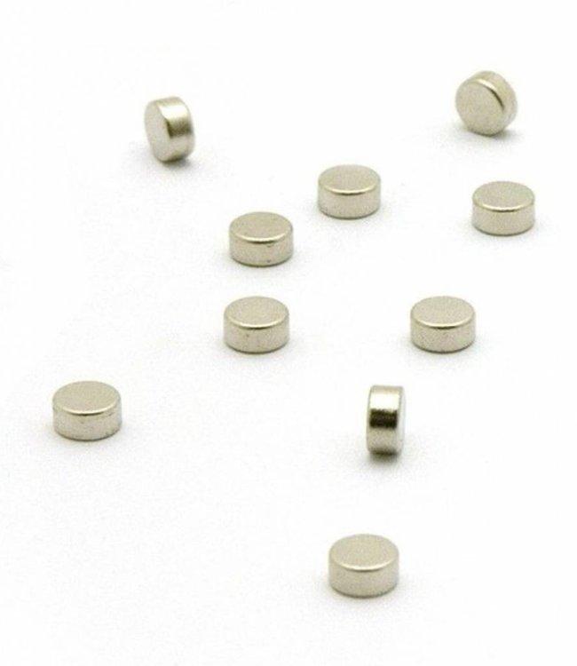 Trendform Magneten - rond zilver