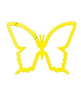 Rico Design Sleutelhanger - musketon - vlinder