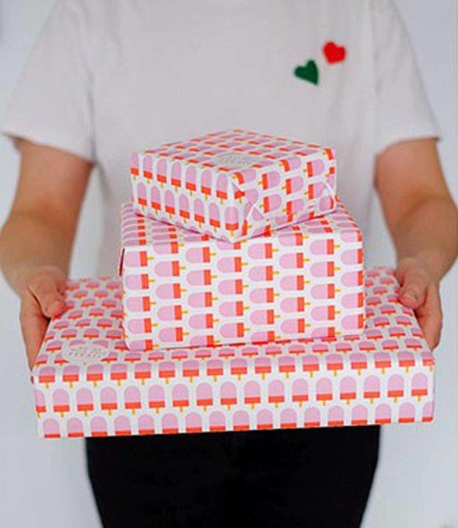 Cadeaupapier - IJsjes