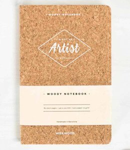 Miss Wood Notitieboek Kurk - Artist
