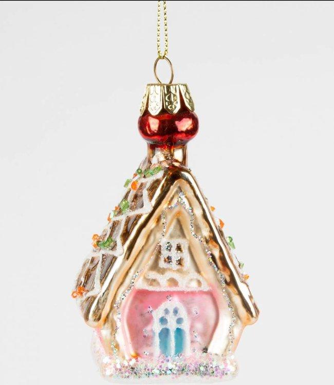 Sass & Belle Kerstboomhanger - peperkoekenhuisje