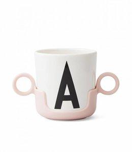Design Letters Houder voor drinkbeker - roze