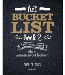 Lannoo Bucketlist boek 2