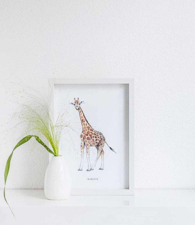 Bintje Poster A4 - Giraf