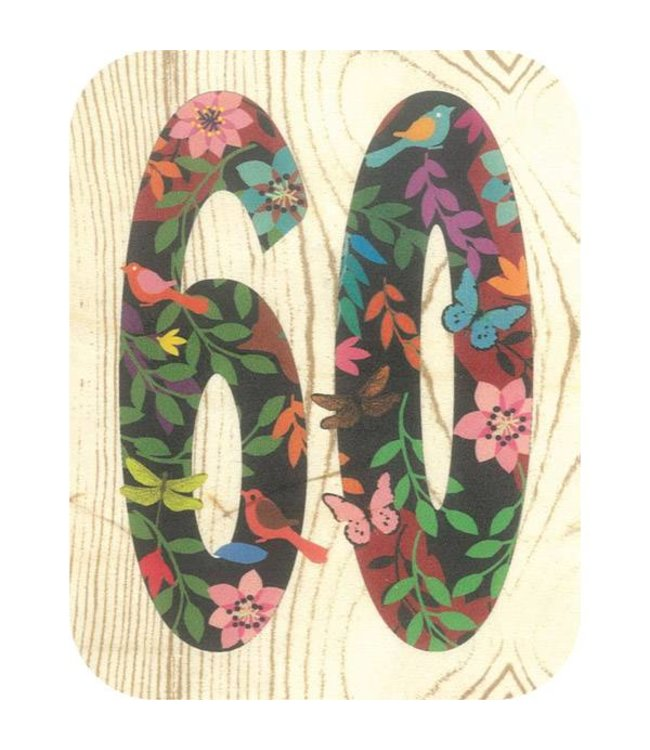 Forever Handmade Cards Houten kaart - 60