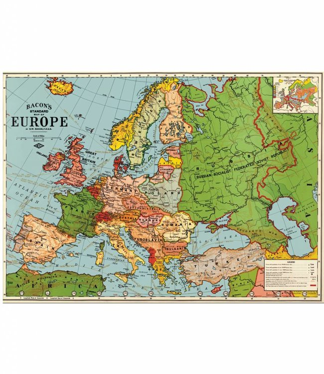 Cavallini & Co Poster - Europa