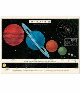 Cavallini & Co Poster - Zonnestelsel