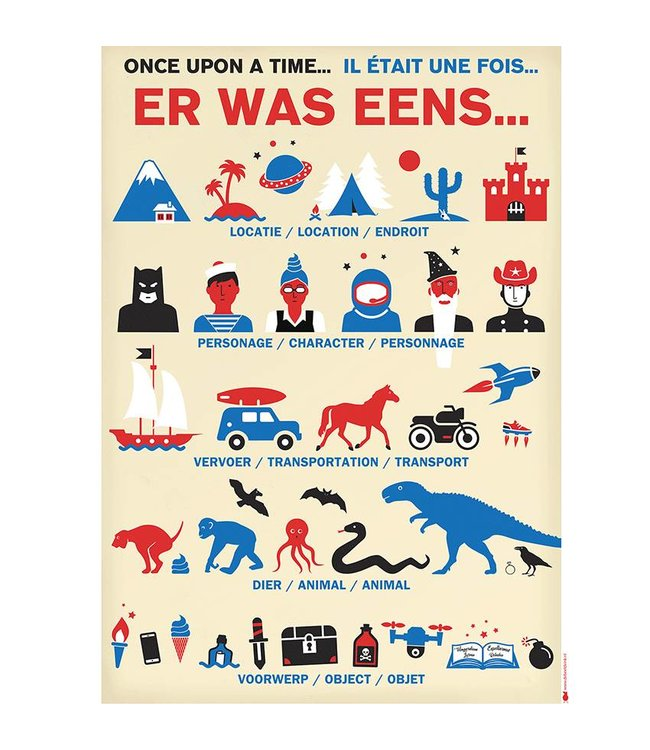 de Beeldvink Verhalen poster
