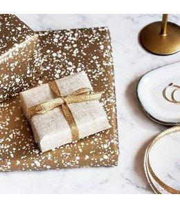 Jurianne Matter Cadeaupapier - Graniet goud
