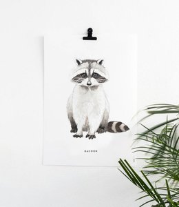 Bintje Poster - Wasbeer