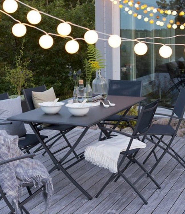 Cotton Ball Lights Outdoor lichtslinger Zelf Samenstellen Lubanida