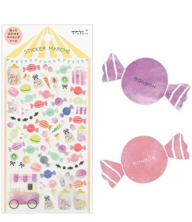 Midori Japan Stickers - Snoepjes