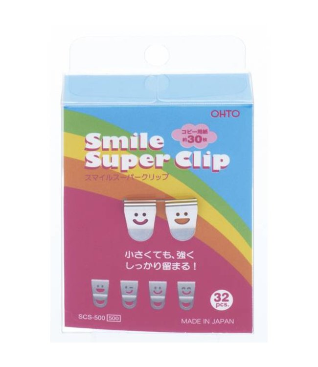 Smile clips zilver