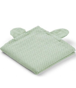 Liewood Swaddle set van 2 - Beer Mint stipjes