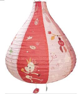 Lilliputiens Lamp lantaarn papier - Eenhoorn Louise