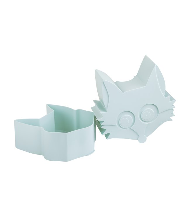 Blafre Snackdoosje vos - Lichtblauw