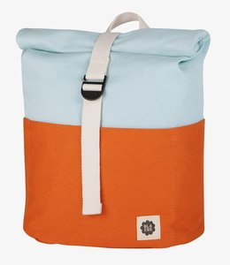 Blafre Roll top Rugzak 3-7j Oranje/blauw