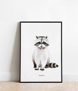 Bintje Poster 30x40 - Wasbeer