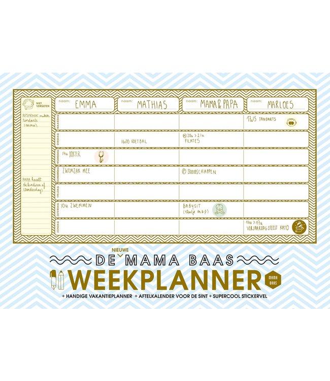Lannoo Mama Baas Weekplanner