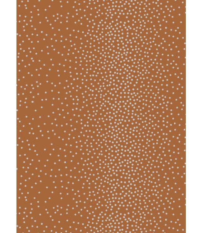 Jurianne Matter Cadeaupapier - Dots bruin