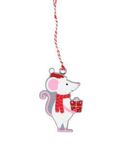 Sass & Belle 6 Gifttags - Kerst muis