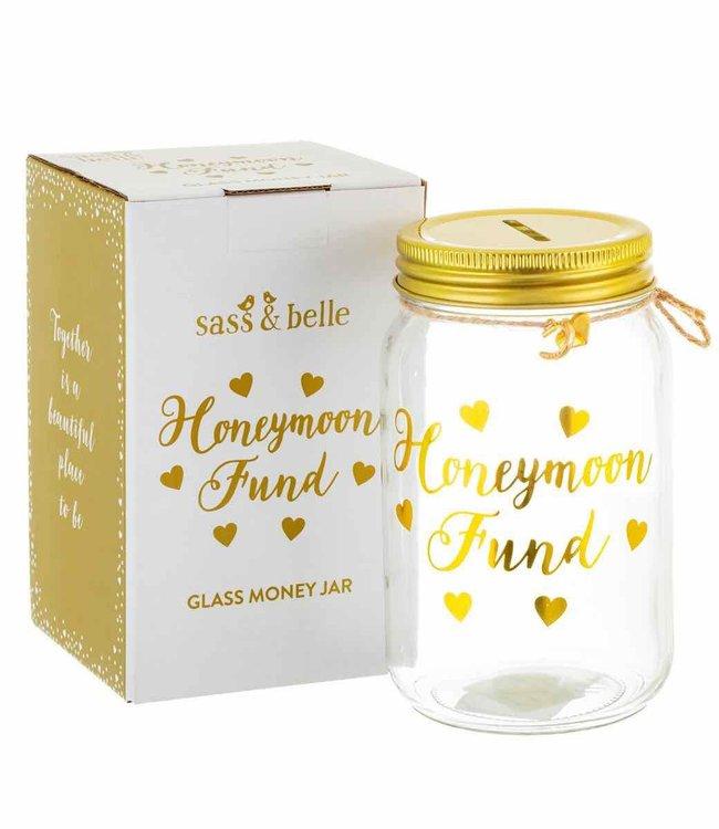 Sass & Belle Spaarpot - Honeymoon Fund