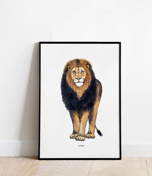 Bintje Poster 30x40 - Leeuw