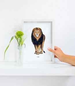 Bintje Poster A4 - Leeuw