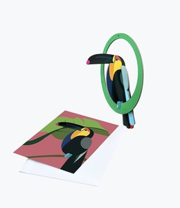 Studio ROOF Pop out kaart - Toekan
